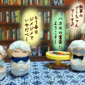 写真4コマ漫画・ハカセの書斎・第九回