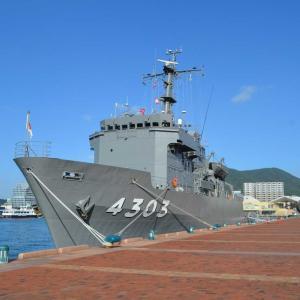 佐世保に海上自衛隊の護衛艦見学に行ってきました。
