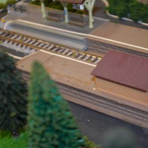 Nゲージ レイアウト製作 ローカル駅の整備をしてみました。