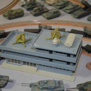 Nゲージ 昴駐屯地 折角なのでちょっと兵装を建物にも配備してみました。