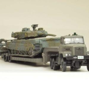 陸上自衛隊 ボンネット型重トレーラータイプ