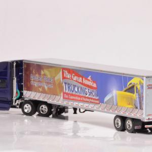 DCP DIE-CAST PROMOTIONS 1:64    GATS 2007 International ProStar high roof Tractor/Dry Goods Trailer