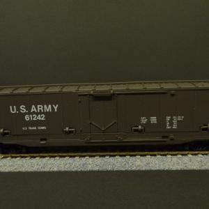 ちょっと変わった貨車GET 鉄道模型HO U.S.ARMY 61242