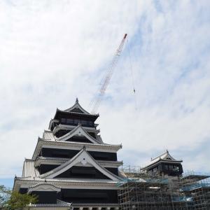 熊本城数年ぶりに天守まで来ました。