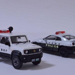 1/64 GT-R&ジムニーのパトロールカー