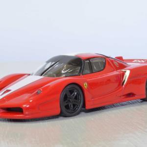 京商製 1/64 フェラーリ・FXX  組み上げてみました。