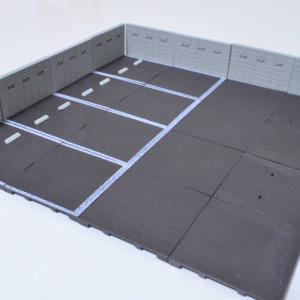 1/64 駐車場コレクション トイズキング製 ガチャポン 拡張しました。