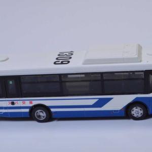 1/80 産交バス レインボーⅡノンステップバス あけてみました。