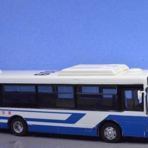 1/80 産交バス レインボーⅡノンステップバス ちょっと情景を作って撮影してみました。