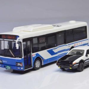 HOサイズ イニシャルD  AE86&産交バス