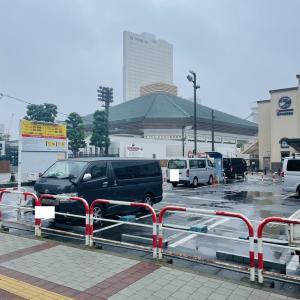 雨の両国国技館