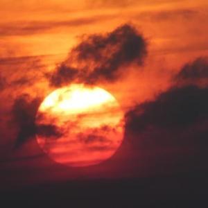 ☆彡 今日の太陽 ☆彡