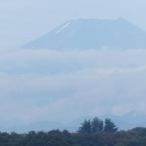 つゆ明けの富士山