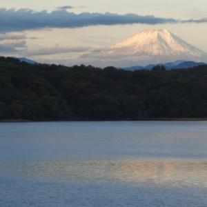 ☆彡 冠雪した今日の富士山  ☆彡