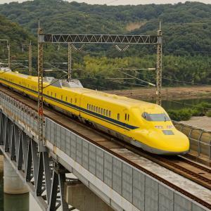 幸せを運ぶ黄色い新幹線