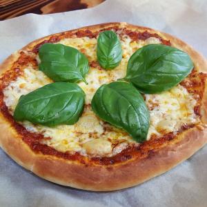 ピザ屋は無いけれど、どうしてもピザが食べたい一日。