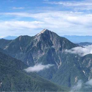 甲斐駒ケ岳に登る〜黒戸尾根からの登り