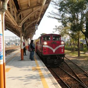 台湾、嘉義 なう … 阿里山森林鉄路に乗車!