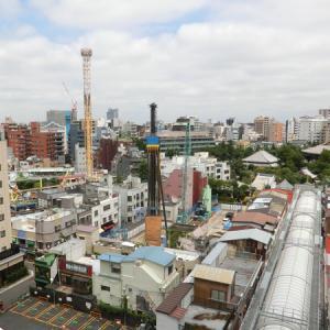 ホテル・ナイン・アワーズの屋上から見た【浅草】の【絶景】