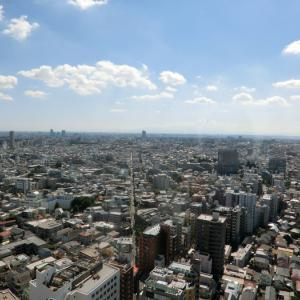 地上126メートル、キャロットタワー展望台(三軒茶屋)