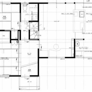 一階フロアープラン(2軒目の新築)