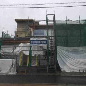 外壁の現在(2軒目の新築)