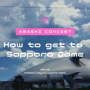嵐コンサート札幌ドームへの行き方・天気・服装ポイント!11月は雪積もり寒いです。