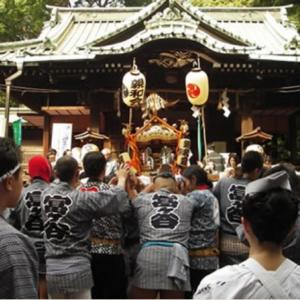 代々木八幡の例大祭
