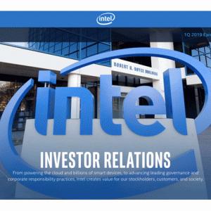 インテルが時間外で急落。株主として同社事業を考察してみた。