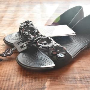 かかとが隠れるクロックスサンダル/Women's Crocs Lina Flower D'Orsay【感想】