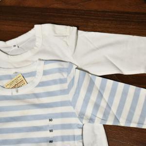 通園着にもおすすめ 無印良品のベビー服「毎日のこども服」オーガニックコットン長袖Tシャツのレビュー