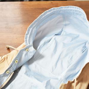 【感想】ドゥクラッセ二重織リバーシブル・パーカーのレビュー/40代春パーカー