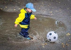 田んぼサッカー!?