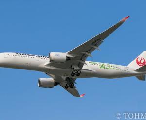 JA03XJがライン投入、FUK初飛来