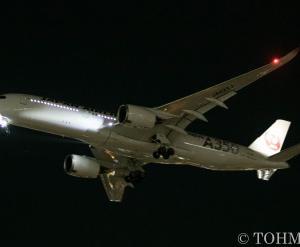 JALのA359特別塗装機、3機運用開始