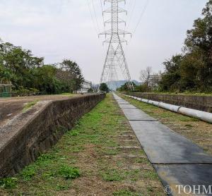 三池炭鉱専用鉄道の廃線敷を歩く