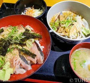 【福岡・舞鶴】ハガツオ炙り丼と胡麻サバのランチ!