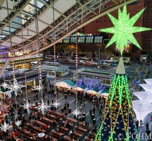 「光の街・博多」で「クリスマスマーケット」始まる