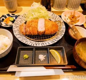 【福岡・箱崎】3種類の味が楽しめる豚カツランチ
