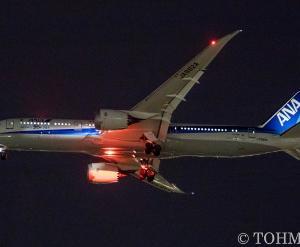 NH8577便でB789・JA882Aが飛来。