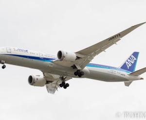 NH8573便でB789・JA877Aが飛来