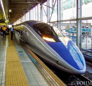 11年前、500系「のぞみ」と変貌途中の博多駅