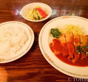 【福岡・香椎】老舗洋食店でいただく豚のカツレツ