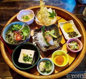 【福岡・西中洲】見た目も整ったお昼の御膳