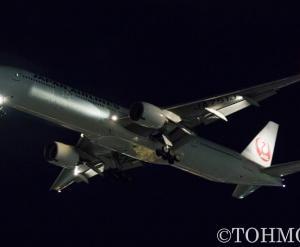 JL6773便で国内線用B773・JA751Jが飛来