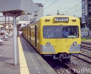 25年前、西武701系