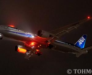 NH8577便でB789・JA921Aが飛来