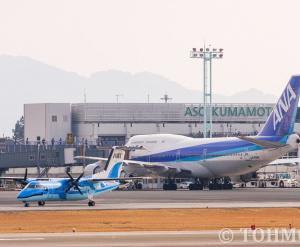 7年前、ANAジャンボと先代みぞか号、そしてKMJのターミナル・・・。