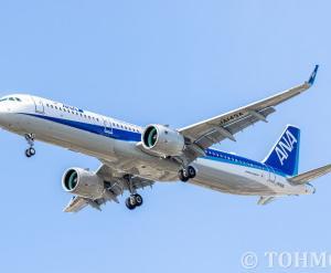 NH243便でA321neo・JA143Aが飛来。