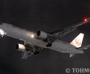 JL6773便でWLつきB763ER・JA606Jが飛来。